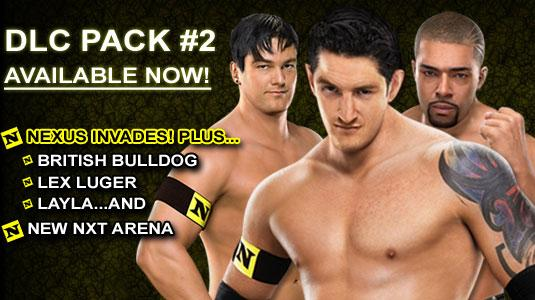 Smackdown Vs Raw 2011:DLC Pack #2 Now Available-Nexus Invades! DLC Trailer included