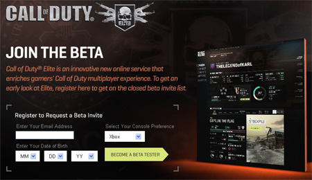 Armor Up: Call of Duty Elite Invite-Only Beta Starts Now