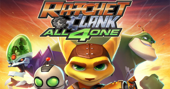 Ratchet & Clank: All 4 One — Working together — bonus — extra Ratchet game