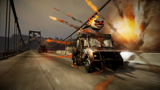 Twisted Metal Multiplayer Demo on PSN — out today — Q&A