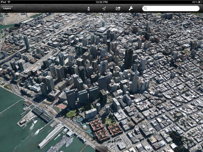 Mobile 3D Maps: How APPLE and GOOGLE 'Could' Contribute to Open-world (SANDBOX) gaming