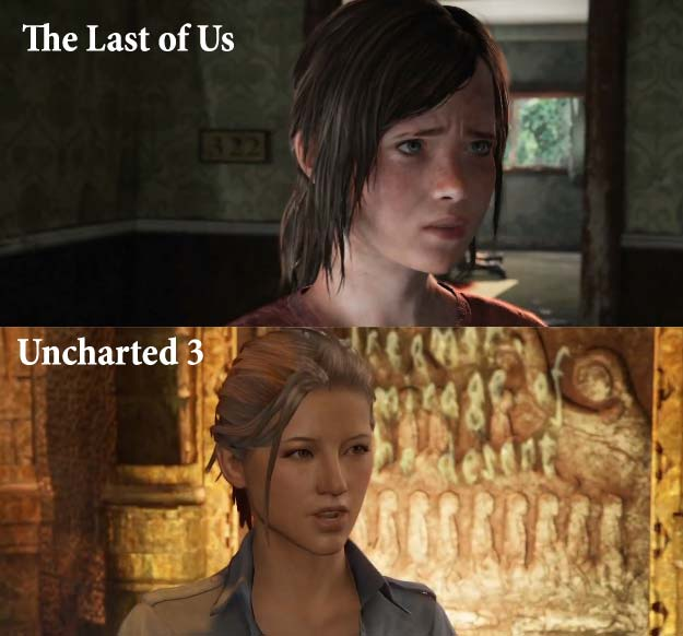 So what's the verdict gaming folks…does The Last of US look better than Uncharted 3?