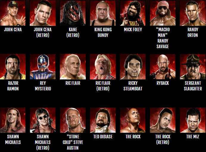 WWE 2K14: Roster Reveal (Official)