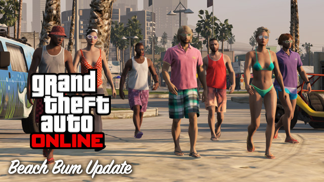 "GTA V Online: ""Beach Bum"" Update is Now Available — Details"
