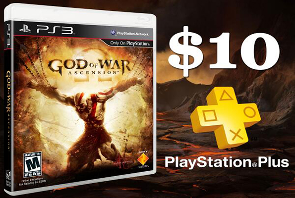 God of War: Ascension $10 for PlayStation Plus members – available now