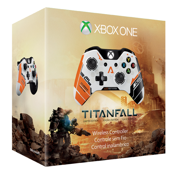 Titanfall Limited Edition Game Controller Unboxing