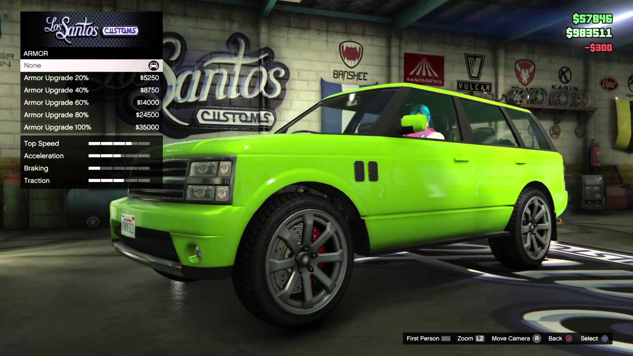 GTA V: Oh,That's Where Rockstar Got The Idea To Put Lime Green SUV's In Missions?