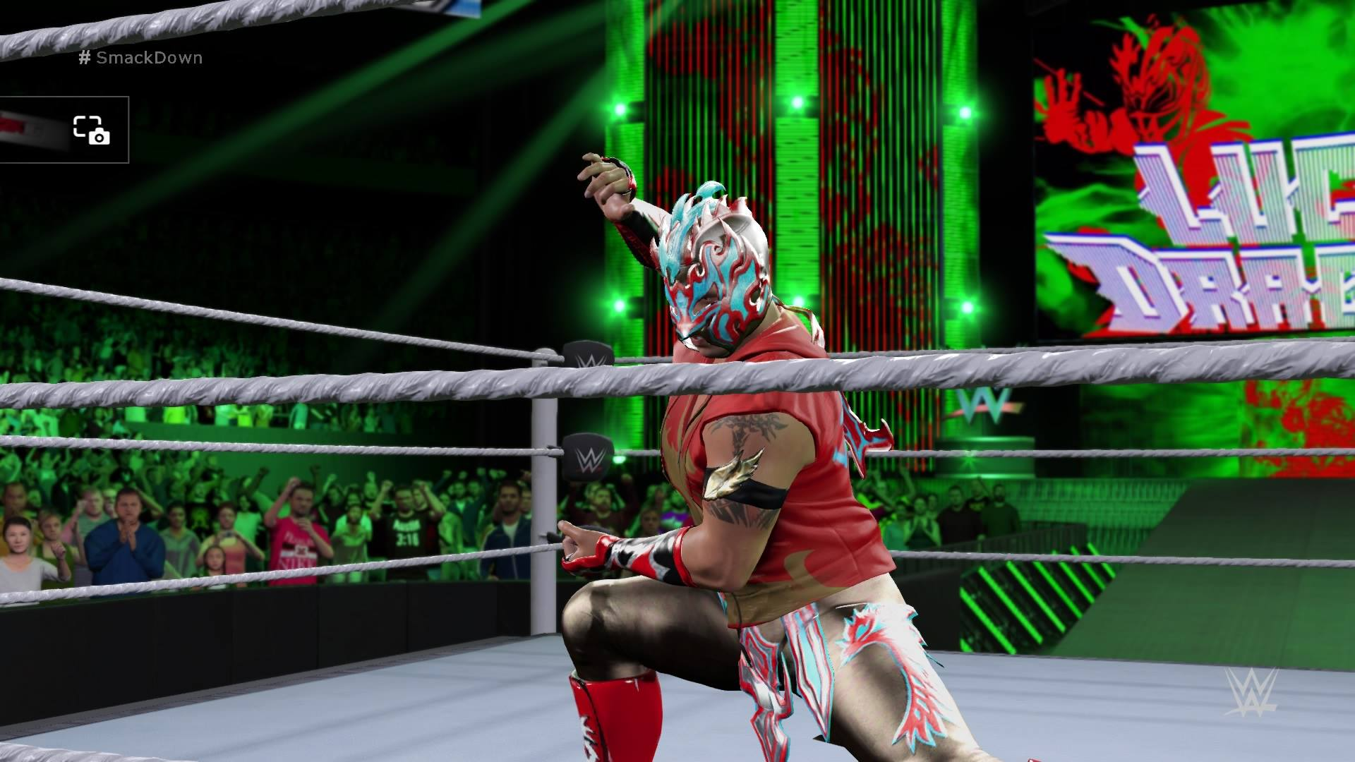 WWE 2K16: My Beautiful Recreation Of Kalisto; WWE Smackdown July 7th